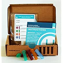 Labrix Diurnal Cortisol Panel - 4 Panel Cortisol Full Day Saliva Test Kit (CX4) by Labrix Home Hormone Test