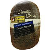 Foster Farms Peppered Turkey Breast -- 3 per case.