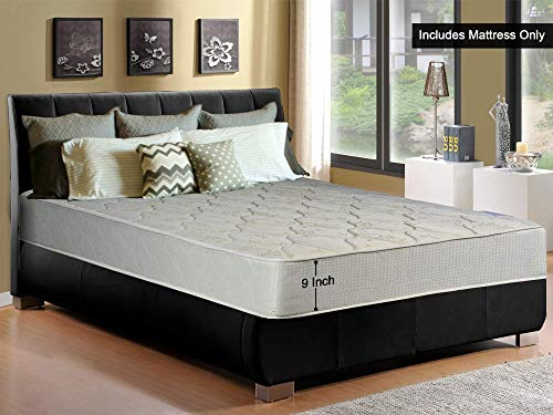 (Spring Sleep 9-Inch Gentle Firm Tight top Innerspring Mattress, Good For The Back, No Assembly Required, Full Size 74