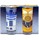Star Wars Set Of 2 Glasses