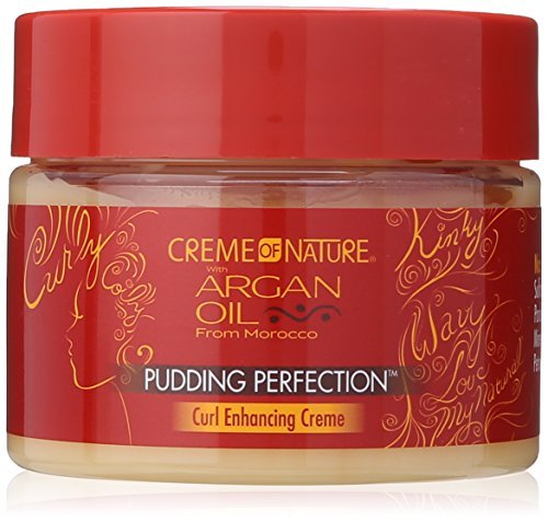 Creme of Nature Pudding Perfection Curl Enhancing Creme, 11.5 Ounce by Creme of Nature (Creme Of Nature Argan Oil Pudding Perfection)