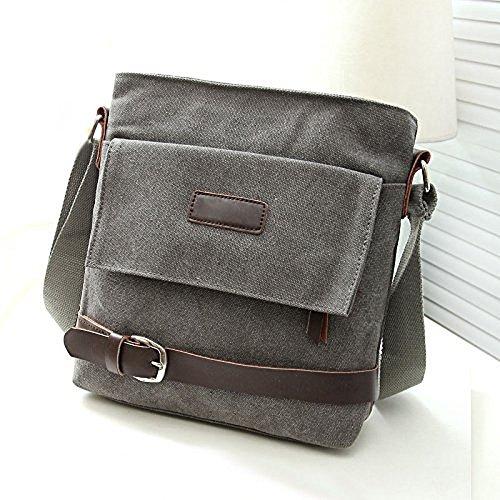 Hrph Hombres Casual bolso multiuso Moda bolsos oficina solo bolsas de lona