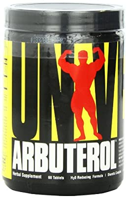Universal Nutrition Arbuterol H2-no Tablets, 60-Count Bottles