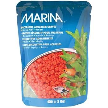 Marina Decorative Gravel, 1-Pound, Orange