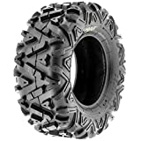 SunF A033 Power.I AT 25x12-9 ATV UTV Tire, All-Terrain Off-Road, 6 PR, Tubeless