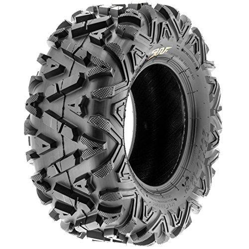 SunF A033 Power.I AT 25x12-9 ATV UTV Tire, All-Terrain Off-Road, 6 PR, Tubeless by SunF