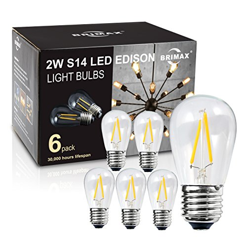 Clear Led Filament String Lights - 3
