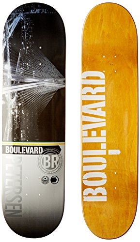 Blvd Skateboards Cityscape Rodrigo Deck, 8.125-Inch