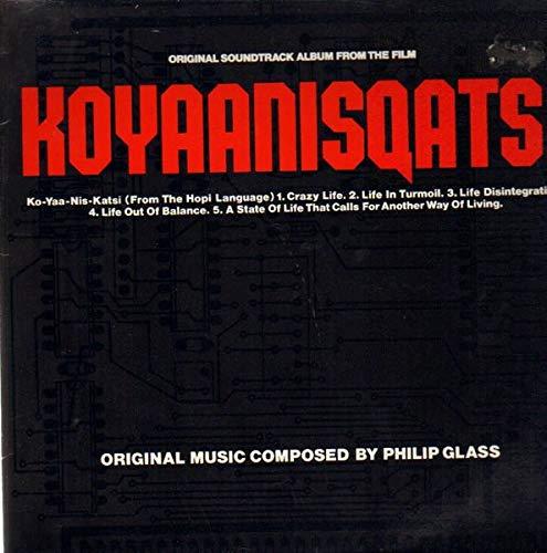 Philip Glass - Koyaanisqatsi - Island Records - 205 626 (Philip Glass Koyaanisqatsi)