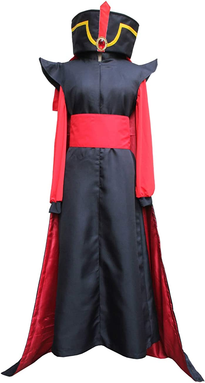 Angelaicos Unisex Long Robe Halloween Costume Uniform 10-11 Years 5pcs Set