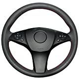 micro benz - Superior Microfiber Leather Steering Wheel Cover for Mercedes Benz C300 C350 / Mercedes Benz E550 / Mercedes Benz GLK 350 / Mercedes Benz SLK300 / Mercedes Benz SL550L