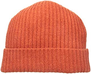 Williams Cashmere Men's Ribbed Hat, Burnt Orange, ONE (B010L6LHY0) | Amazon price tracker / tracking, Amazon price history charts, Amazon price watches, Amazon price drop alerts