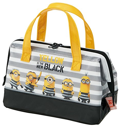 (Cold Enamel Lunch Bag Bento Box-3Minions For Despicable Me Minions Large Breakout)