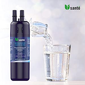 Refrigerator Water Filter Compatible with Whirlpool W10295370A W10295370 EDR1RXD1 Kenmore 46-9930 by Upsante (3 PACK)