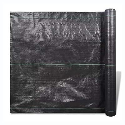 K&A Company Landscape Fabric, PP Weed Control Matting 328' x 6' 2.65 osy