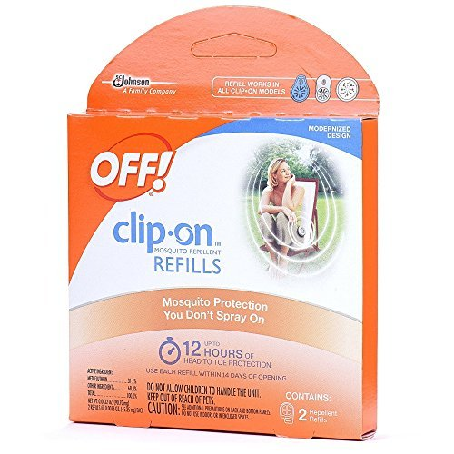 Off ! Clip-On Refills, 2 Count Refill (Pack of 24), 48 Total Refills by OFF!