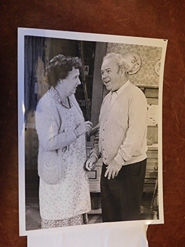 Carroll O'Connor, Jean Stapleton in Archie Bunker's Place CBS TV Promo Photograph Television 8