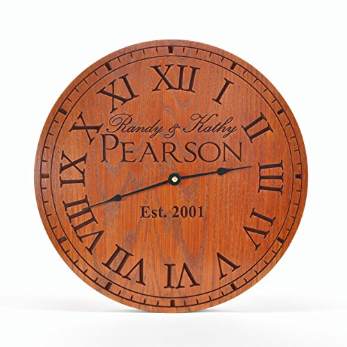 personalized wall clock - 6