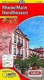 ADFC-Radtourenkarte 16 Rhein/Main Nordhessen 1:150.000, reiß- und wetterfest, GPS-Tracks Download und Online-Begleitheft (ADFC-Radtourenkarte 1:150000)
