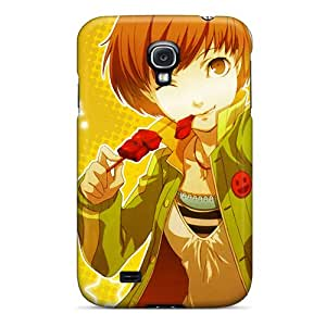 Shock Absorption Hard Cell-phone Cases For Samsung Galaxy S4 (EPO13934fuqI) Provide Private Custom Beautiful Persona 4 Chie Pictures