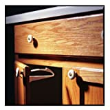 KidCo Adhesive Mount Cabinet and Drawer Lock, 24 Pack