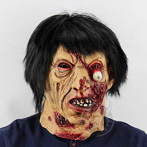 Party Masks - Horror Ghost Black Hair Zombie