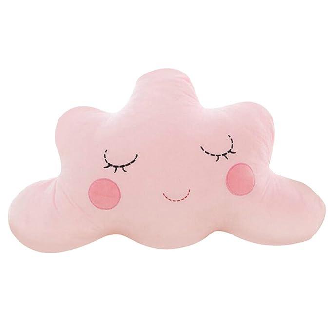 Cojín de peluche Verlike suave, con forma de nube, para cama, regalo para casa, 1#, 60 cm