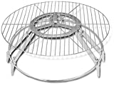 Cheap Campfire Genie BBQ Grill and Fire Pit, 22-Inch
