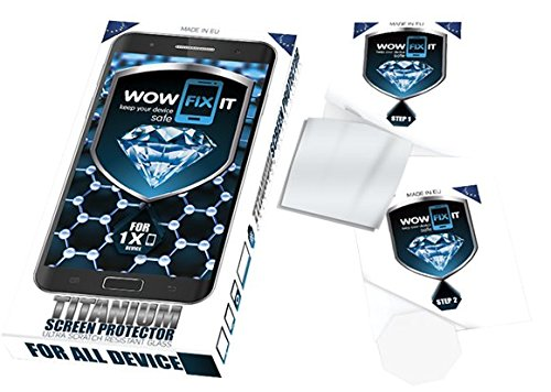wow fix it Liquid Screen Protector For 1 Device For All Cellphones With Titanium NanoTechnology For: Apple, Samsung, iPhone X ,iPhone 8 ,iphone7 ,7 Plus, 6plus,Galaxy Note 8, S8, S9, 8S-all Tablets