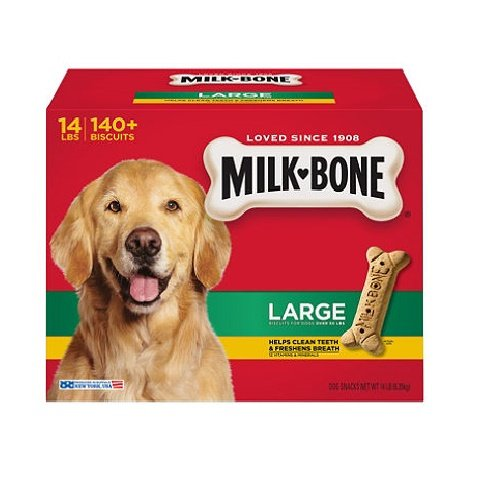 Milk-Bone Large Dog Biscuits, 14-Pound