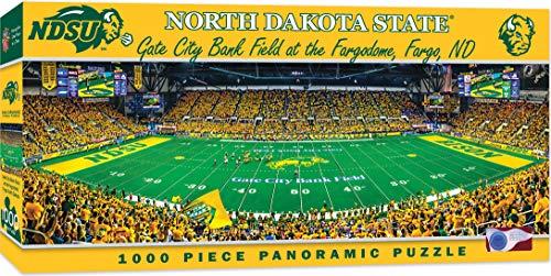 MasterPieces NCAA North Dakota State Bison 1000 Piece Stadium Panoramic Jigsaw Puzzle