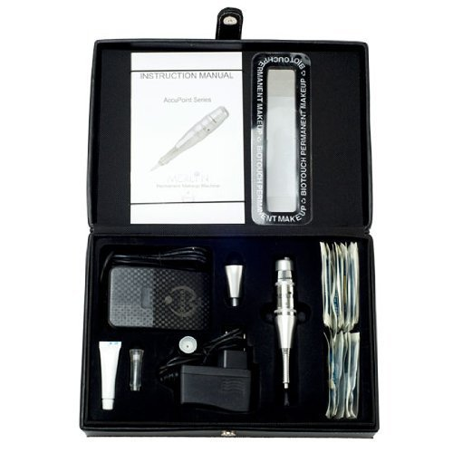 110v BioTouch DELUXE MERLIN MACHINE Kit BIO TOUCH Permanent Makeup Tools Needles by BioTouch
