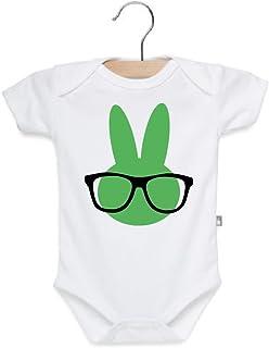 Baby Boy Easter Outfit Hip Hop Bunny Hipster Shirt Toddler Boy Girl