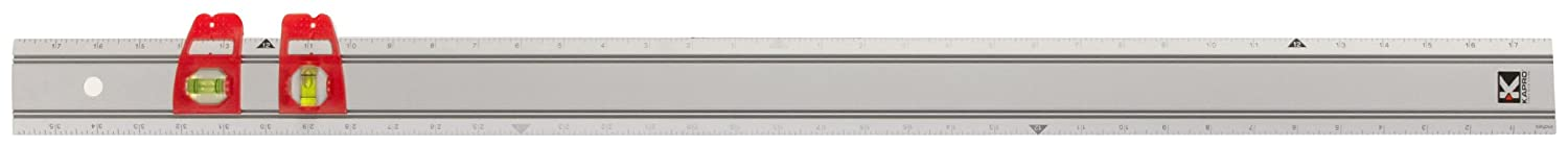 Kapro 314 36 Set Match Ruler with Sliding Vials 36 Inch Length
