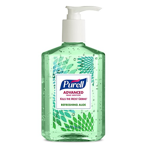 Purell-9674-06-ECDECO-Advanced-Design-Series-Hand-Sanitizer-8-oz-Bottles-Pack-of-4