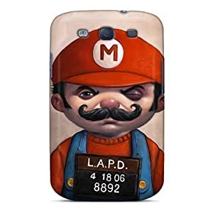 Anti-scratch Case Cover WonderwallOasis Protective Super Mario Older Man Hd Case For Iphone 5/5S Kimberly Kurzendoerfer