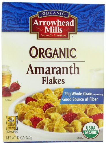 - Arrowhead Mills Organic Cereal, Amaranth Flakes, 12 oz. (Pack of 6)