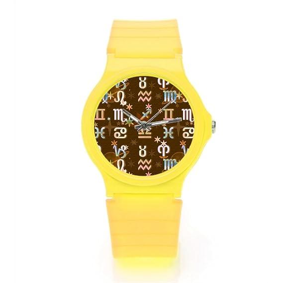 Lifewear signos del zodiaco Zodiac - Reloj de pulsera: Amazon.es: Relojes
