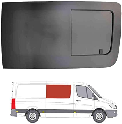 Mano derecha, tintado oscuro apertura ventana para Panel lateral OPP. Puerta Corredera Mercedes Sprinter (2006 on): Amazon.es: Coche y moto