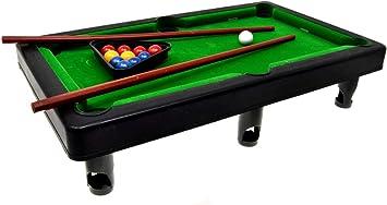 VENTURA TRADING Miniatura Piscina Snooker Mesa de Billar ...