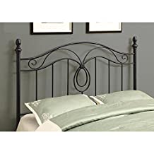 Monarch Black Queen Full-Size Combo with Headboard or Footboard Only