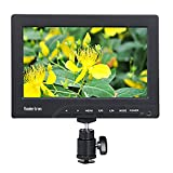 1080P Monitor - Koolertron Protable 1080p 7 Inch Camera/Crane Jib Field Monitor DSLR HDMI VGA W/E6 Plate Adapter