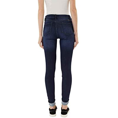 Buy Kan Can Women S High Rise Button Fly Distressed Super Skinny Jeans Online In Indonesia B07v39s1yq