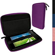 iGadgitz Purple EVA Hard Case for Acer Iconia One 7 B1-730HD & Iconia One 7 B1-750HD