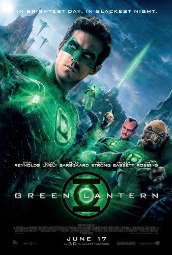 Green Lantern Poster Style H 2011