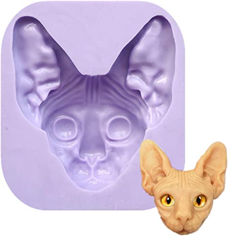 Cats  Silicone Mold Fondant Cake Cupcake Decorating Tools Soap Mold Flexible Mold Silicone Mould