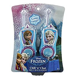 Disney Frozen KIDdesigns Chill \'n\' Chat FRS 2-Way Radios