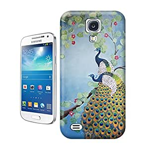 Yishucase-Colorful happy peacock dancing cute animal durable top Hard Cover for Samsung Galaxy Note 4 case