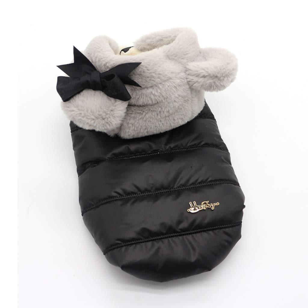 ABLJ clothes for pets Pet Vestiti Gilet in Cotone Vestiti Inverno Cane Vestiti Maglia Pet Teddy Cane Autunno e Inverno Vestiti Ispessimento -XXXL