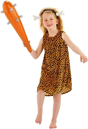 Folat 21847 Las cavernas Disfraz Infantil de los niños (2 Piezas ...